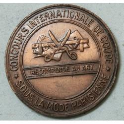 Médaille, CONCOURS DE MODE - Méthode Parisienne MARTI