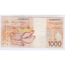 BILLET DE BELGIQUE 100 FRANCS 1997 L'art des gents