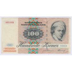 BILLET DU DANEMARK 100 KRONER NEUF