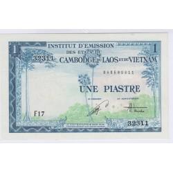 BILLET DU CAMBODGE 1 PIASTRE NEUF L'ART DES GENTS AVIGNON