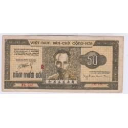 BILLET DU VIETNAM 50 DONG 1950 Pick 32 L'ART DES GENTS AVIGNON