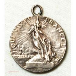 MEDAILLE argent Ligue des Patriotes 1882