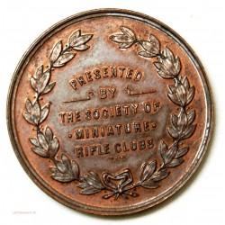 """Médaille Sté de Miniature """"THE RIFLE CLUBS"""" l'art des gents Avignon"""