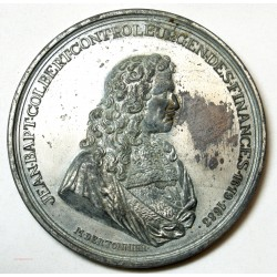 Médaille étain de jean Batiste Colbert -  l'art des gents Avignon