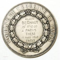 Médaille AESCVLAPIVS Faculté de Médecine de Paris - Argent - Monnaie de Paris