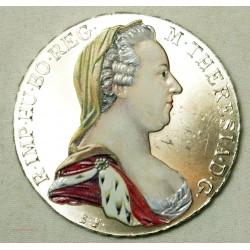 Autriche - Thaller Marie Thérèse 1780 colorisée (refrappe)
