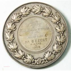 MEDAILLE  HIPPOCRATE attribuée à Lyon 1928 par E. DUBOIS