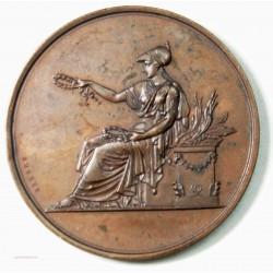 Médaille Ville de Paris, enseignement du Dessin Attribuée en 1875. par BRENET