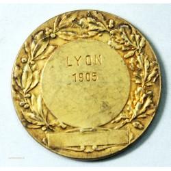 Médaille argent Canine  Lyon 1905 par RIVES