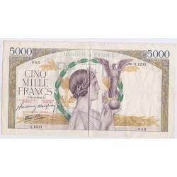 5000 FRANCS VICTOIRE L'ART DES GENTS