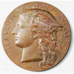 Médaille AGRICULTURE de GRIGNON 1895 par H. PONSCARME