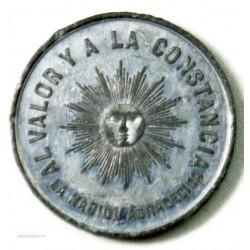 Médaille JETON, Rép. ARGENTINE contre Gouvernement PARAGUAY