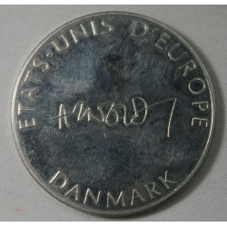 Médaille états unis d' Europe - Danemark