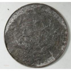 Médaille uniface cuivre Napoléonn III, Exposition Paris 1855