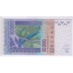 BILLET DU NIGER 10000 Francs CFA L'ART DES GENTS AVIGNON