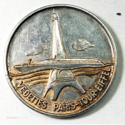 Médaille vedettes Paris Tour-eiffel Attribué en 1975