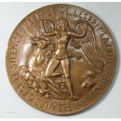 Médaille Antoine de Saint Exupery, Ecrivain  1900-1944 par Belmondo