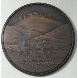 Médaille Paul Deschamps (conservateur de musée) par J.M. COEFFIN