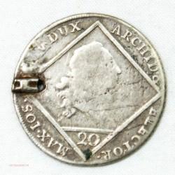 Allemagne - 20 kreuser Bavière 1772