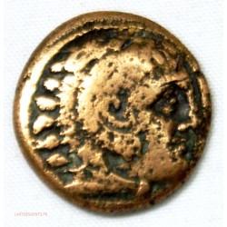 GRECE - Royaume de Macédoine, Unité de Bronze cavalier