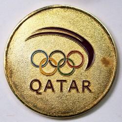 Médaille QATAR  weightlifting & bodybulding federation Olympique
