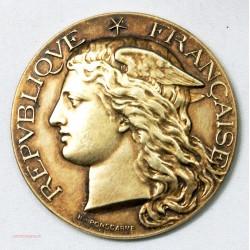 Médaille argent AGRICULTURE du LARZAC 1885 par H. PONSCARME