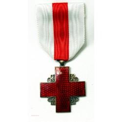 Insignes récompense de la croix rouge Française de collection. ARGENT ET BRONZE