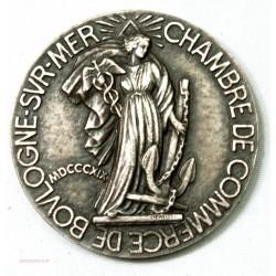 Medaille Chambre de Commerce de Boulogne sur Mer MDP