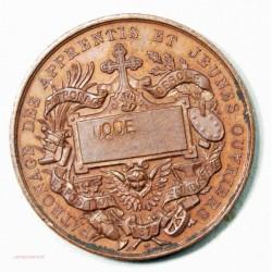 Médaille  Saint Vincent de Paul par O. TROTIN