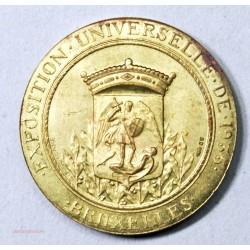 Médaille Mannekenpiss Exposition Universelle de Bruxelles 1935