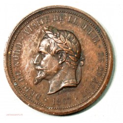Médailles  napoléon III et Louis Philippe Ier