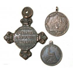 lo de 5 Médailles  religieuses