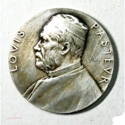 """Médaille argent Louis Pasteur """" DOLE ville natale de PASTEUR"""" par O. ROTY H.DUBOIS"""