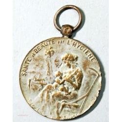 Médaille Santé et beauté par l'hygienne par R. DELARRE