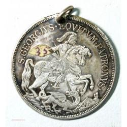"""Médaille de soldat Saint Georges  """"intemperstate securitas"""""""