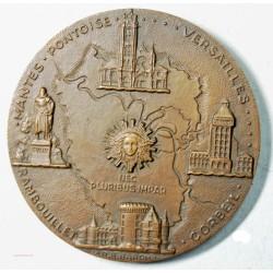 Médaille bronze Département Seine et Oise  par R.B. BARON
