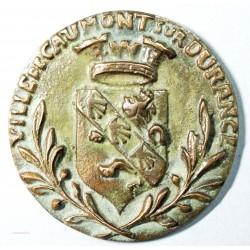 ancienne grosse Médaille VILLE DE CAUMONT SUR DURANCE