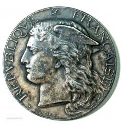Médaille argent Ministère de l' Agiculture CONLIE SARTHE 1895 par H. POINSCARME