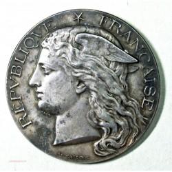Médaille argent Ministère de l' Agiculture HIPPIQUE TOULOSE 1895 par H. POINSCARME