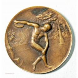 Médaille  finale Challenge épée club 1924 par J. Lhommeau