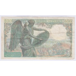 BILLET FRANCE 100 FRANCS DESCARTES 100 FRANCS 1942 L'ART DES GENTS