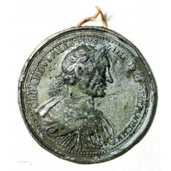 Médaille uniface Gerardvs asaltivs dg  dux lot  et marchio