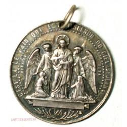 Médaille ARGENT communion 1882 par DESAIDE
