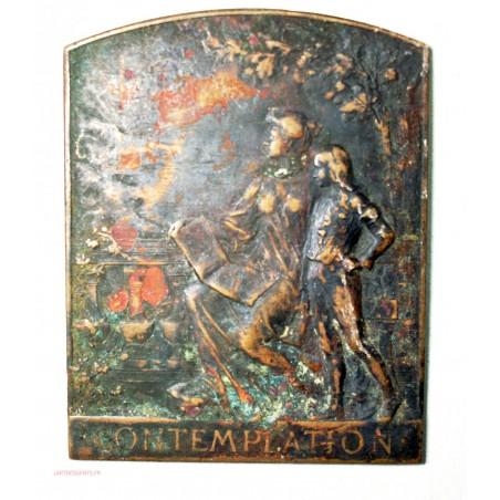Médaille uniface CONTEMPLATION par A. Maillard