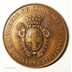 Médaille école supérieur de commerce de Marseille