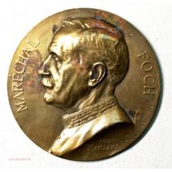 Médaille MARECHAL FOCH 1918 par A. Maillard