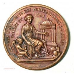 Médaille Sté d'enseignement professionnel du Rhone 1902