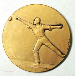 Médaille  de pétanque  par H. Demey, (1) lartdesgents.fr Avignon