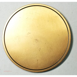 magnifique Médaille uniface avec Nef de STRASBOURG, 220grs, lartdesgents.fr