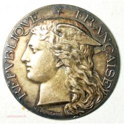 Médaille argent Ministère de l' Agiculture ALGER 1892 par H. POINSCARME
